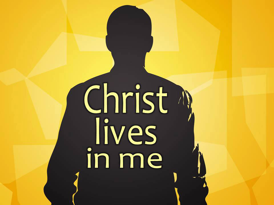 Christ Lives in Me Image